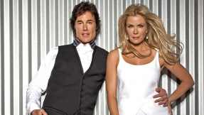 Ronn Moss as Ridge Forrester and Katherine Kelly Lang as Brooke Logan in The Bold and the Beautiful