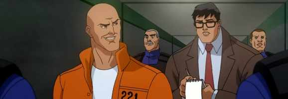 Clark Kent meets Lex Luthor in prision