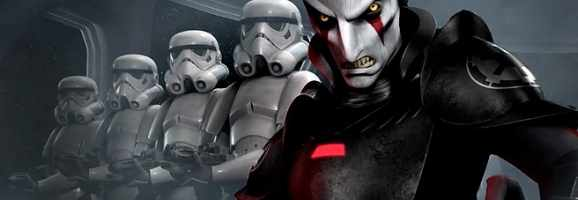 The Inquisitor and Imperial Stormtroopers