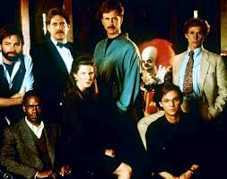 The adult cast in the second part of the film from IT