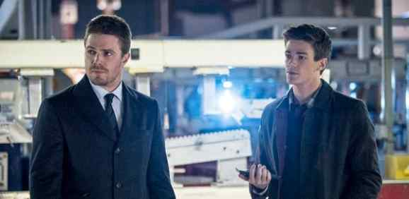Grant Gustin in Arrow