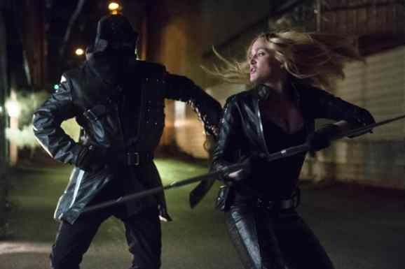 Black Canary in Combat