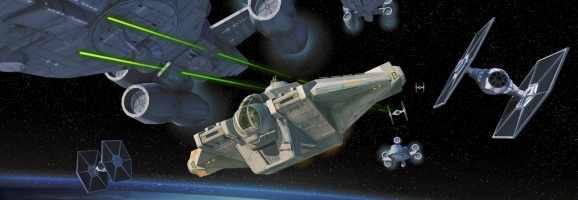 Concept art for Star Wars Rebels.