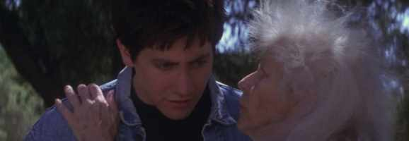 Roberta Sparrow tells Donnie that everyone dies alone.