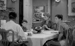 Leave it to Beaver - Dinner Scene