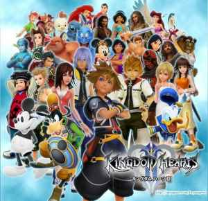 The cast of Kingdom Hearts.