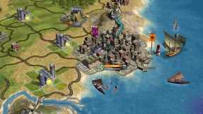 Building an empire to a great soundtrack in Civilization IV.