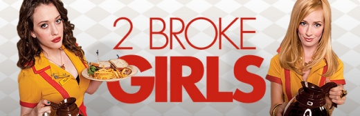 2 Broke Girls Banner