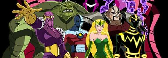 Avengers: Earth's Mightiest Heroes depiction of The Masters of Evil.