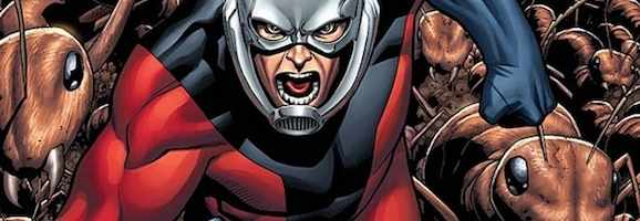 Hank Pym in Ant-Man costume