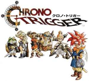 Chrono Trigger's SNES cover art. This same cover art was used for the PSOne remaster