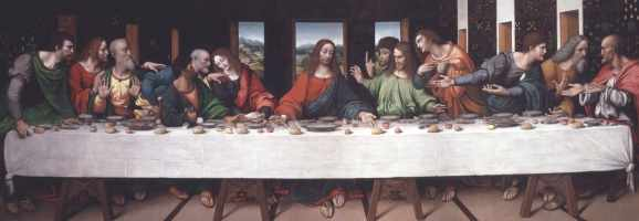 The Last Supper, Leonardo da Vinci (1494-8)