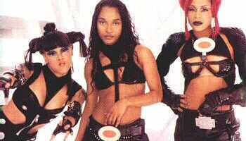 "TLC in a promo picture for ""No Scrubs"""