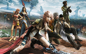 The cast of Final Fantasy XIII drive the mammoth plot forward.