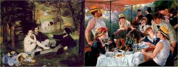 Manet and Renoir