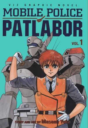 Patlabor manga cover