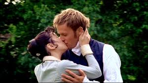 a still from the BBC's 2007 production of Persuasion, starring Sally Hawkins and Rupert Penry-Jones