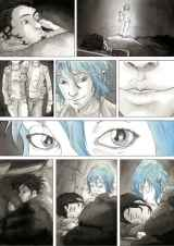 Page from Blue is the Warmest Color graphic novel