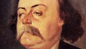The author Gustave Flaubert