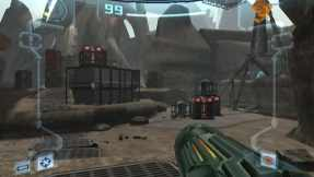 -Metroid Prime features a much greater element of exploration than most first-person shooter games.