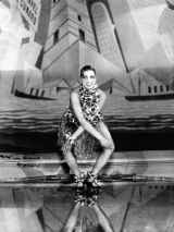 Josephine Baker dancing the Charleston at the Folies-Bergère, Paris, 1926 (PD by age)