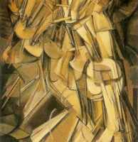 Nude Descending a Staircase No. 2, Marcel Duchamp, 1912.