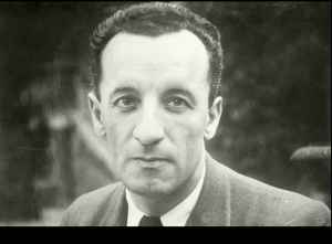 The French writer Maurice Merleau-Ponty (1908-1961).
