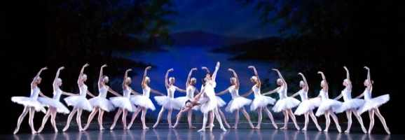The classical ballet Swan Lake