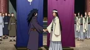 The Uchiha and Senju Clans, united.