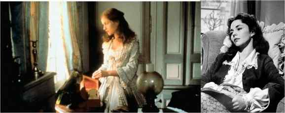 Isabelle Hupert in Chabrol's Madame Bovary (1991) and Jenifer Jones as Madame Bovary in Minnelli's Madame Bovary  (1949)