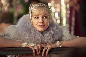Carey Mulligan as Daisy Buchanan.