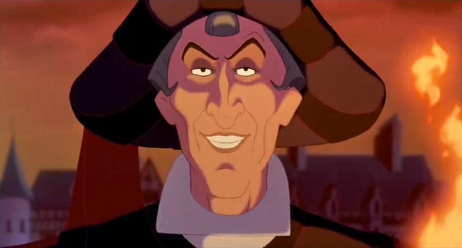 Frollo, the villain