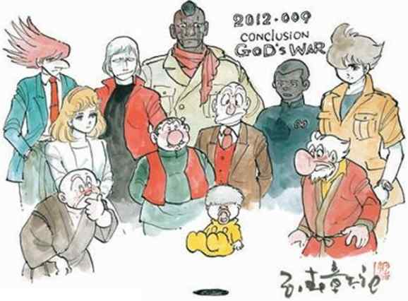 The characters, as re-envisioned for the 21st century and their final tale.