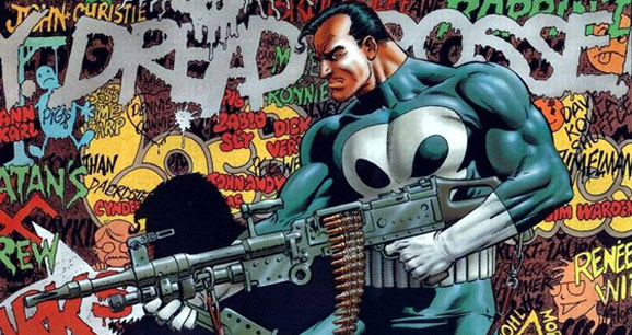 The Punisher. Poster by Mike Zeck