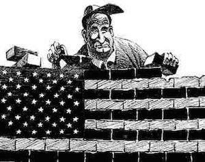 American isolationism isn't exactly a secret.