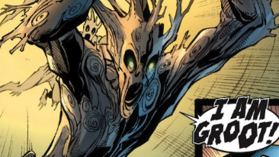Groot of Marvel Comics Guardians of the Galaxy