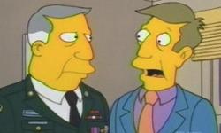 Sgt. Seymour Skinner and Armin Tanzarian