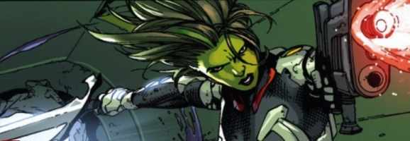 Gamora of Marvel Comics