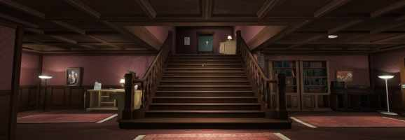 Gone Home - the first room