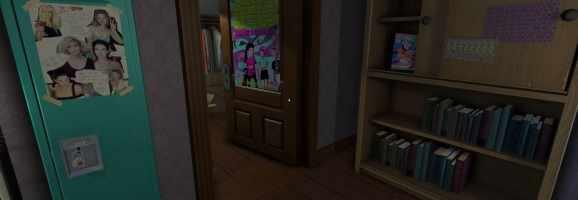 Gone Home - Sam's bedroom