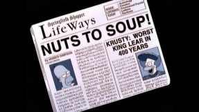 Krusty as Lear - paper
