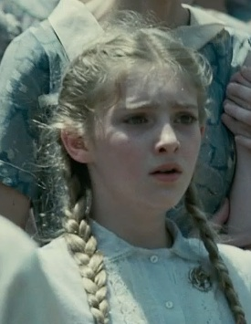 """Prim sounds about a thousand years old when she speaks, 'whatever it takes to break you."""