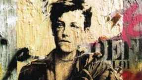 Graffiti of Rimbaud