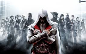 Ezio as he appears in Assassin's Creed: Brotherhood.