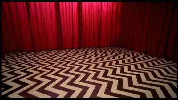 The instantly recognisable Black Lodge