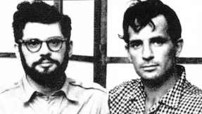 Allen Ginsberg with fellow Beat, Jack Kerouac