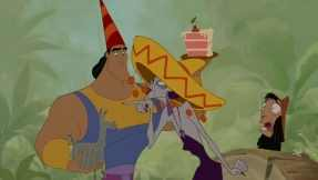 Overhearing Kronk and Yzma's plot to kill him gives Kuzco the revelation necessary to accept the second chance that being a llama has given him.