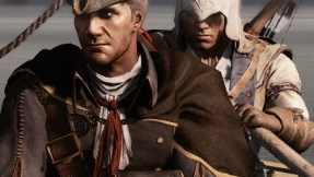 Haytham and Connor working together