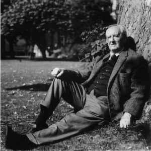 J.R.R. Tolkien taken by Billett Potter