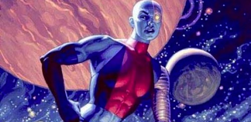 Nebula, villain to The Avengers and Guardians of the Galaxy